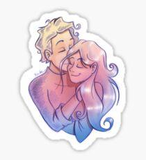 Love me, love you Sticker