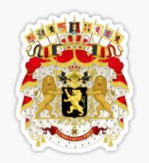 Great Coat of Arms of Belgium Sticker