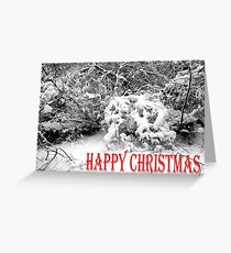 HAPPY CHRISTMAS 1 Greeting Card