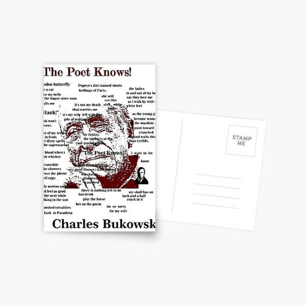 Charles Bukowski Postcard