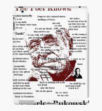 Charles Bukowski iPad Case/Skin