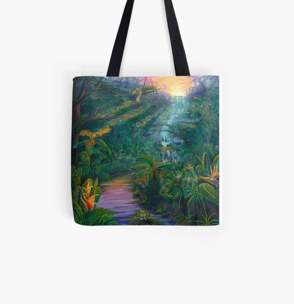 Jungle Twilight All Over Print Tote Bag