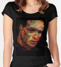 Marlon Fucking Brando. Women's Fitted Scoop T-Shirt