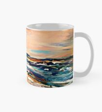 A wave of paint  Mug
