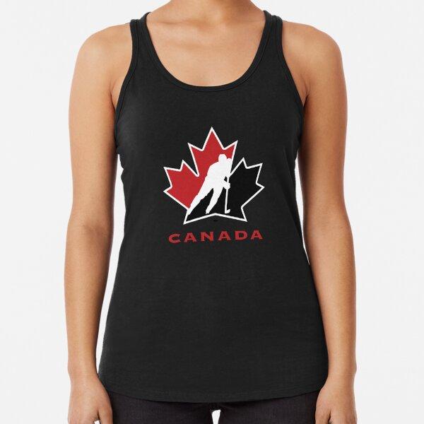 BEST SELLER - team canada logo Merchandise Racerback Tank Top
