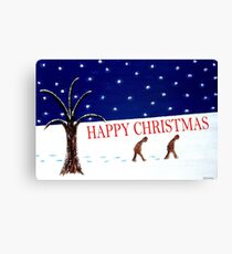 HAPPY CHRISTMAS 15 Canvas Print