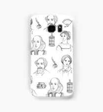 Famous Authors Samsung Galaxy Case/Skin