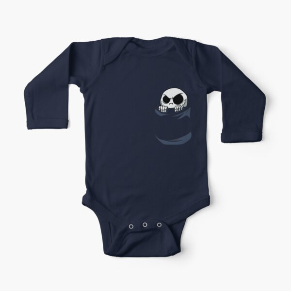 Jack in the Pocket Long Sleeve Baby One-Piece