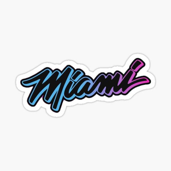 Miami Vice Versa 2020-21 City Jersey Sticker