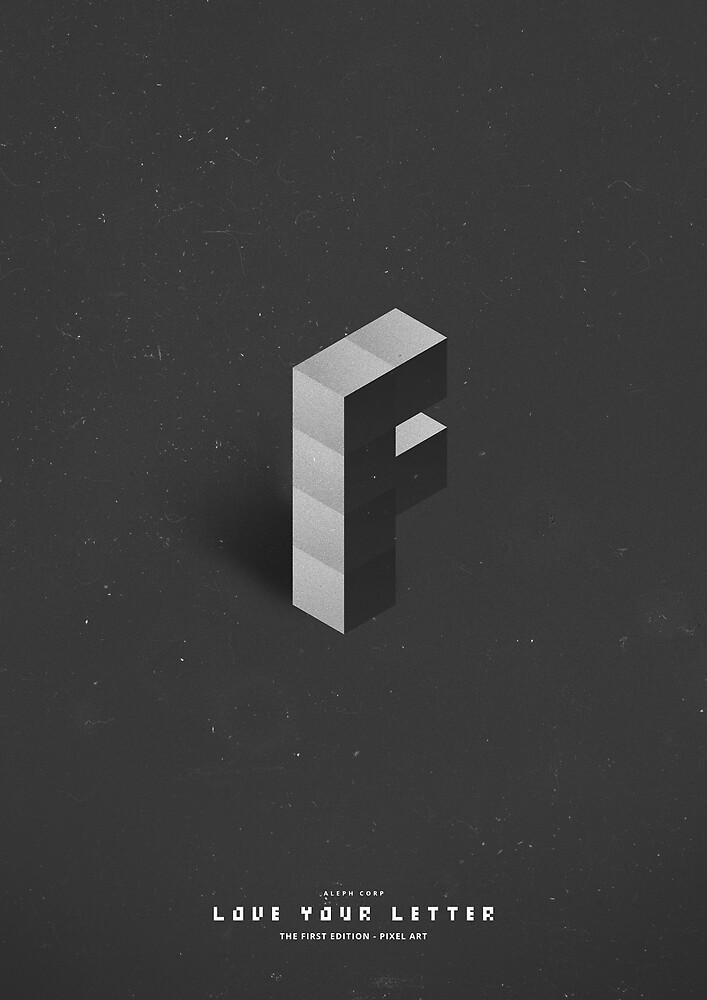 F - Pixel Art by SHIRĀZ & DĀRYĀN