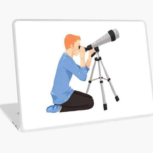 TAG: John and his telescope  Laptop Skin