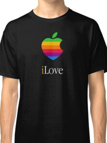 iLove [for dark shirts] Classic T-Shirt