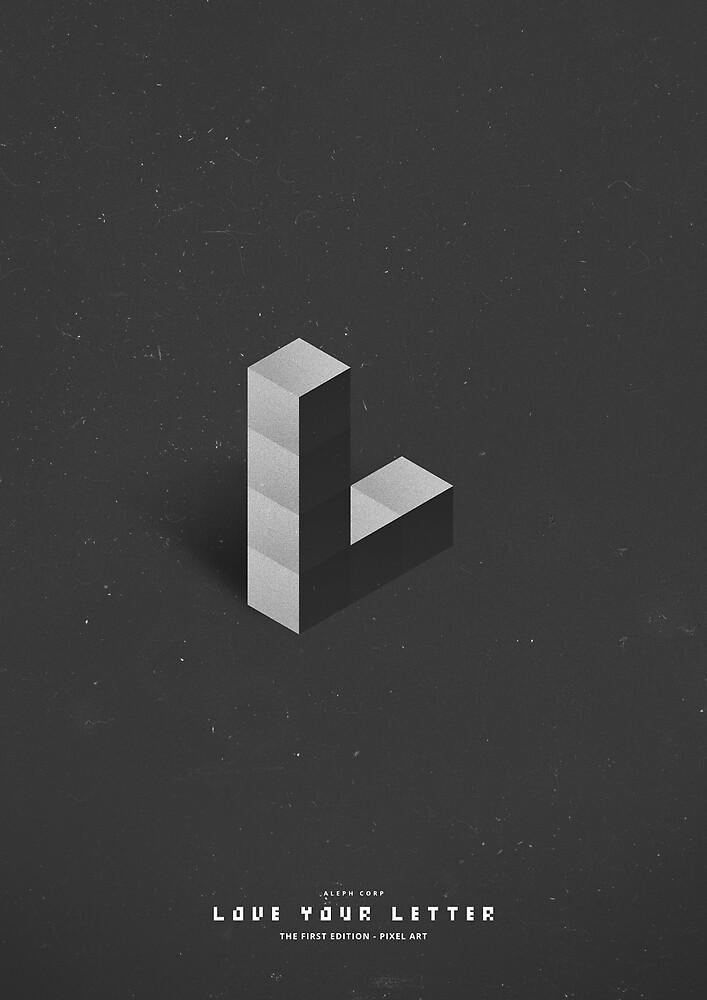 L - Pixel Art by SHIRĀZ & DĀRYĀN