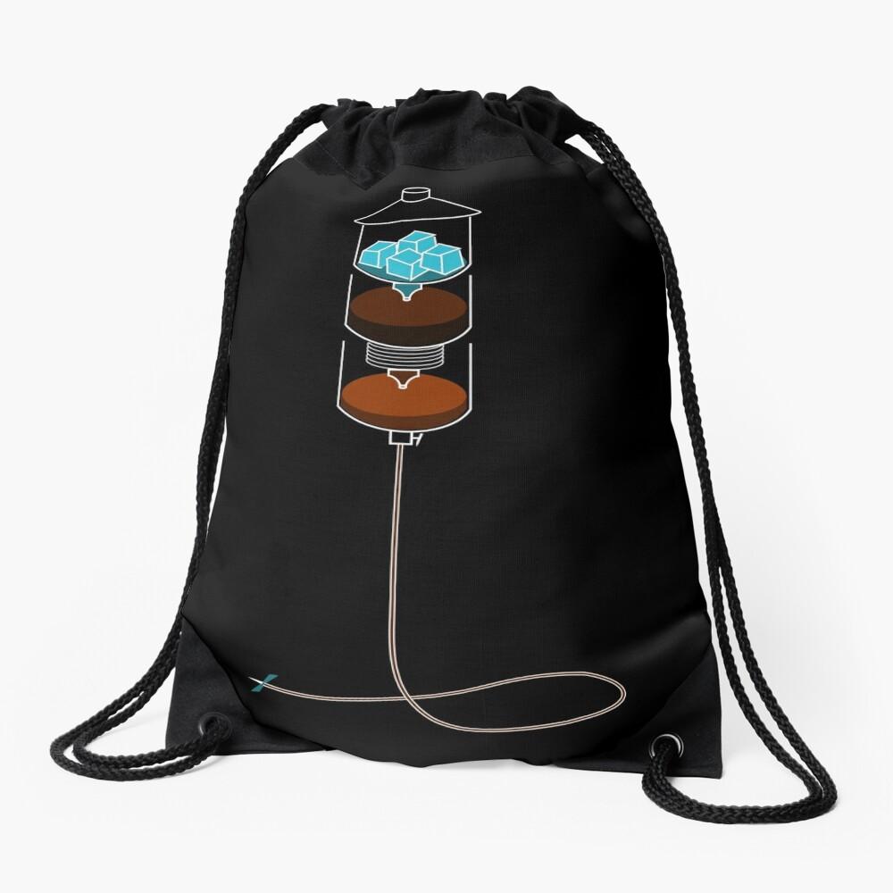 Cold Drip IV Drawstring Bag