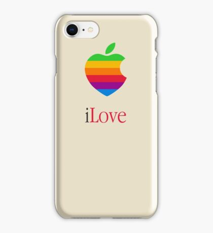 iLove  [for light shirts] iPhone Case/Skin