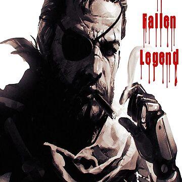 Metal Gear Solid Phantom Pain  by deathlesseye
