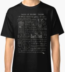 Theory of relativity : spacetime Classic T-Shirt