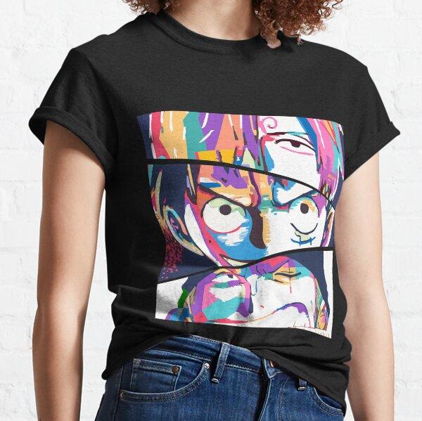 Sanji Luffy Zoro T-shirt classique