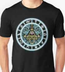 Gravity Falls Bill Cipher Wheel T-Shirt