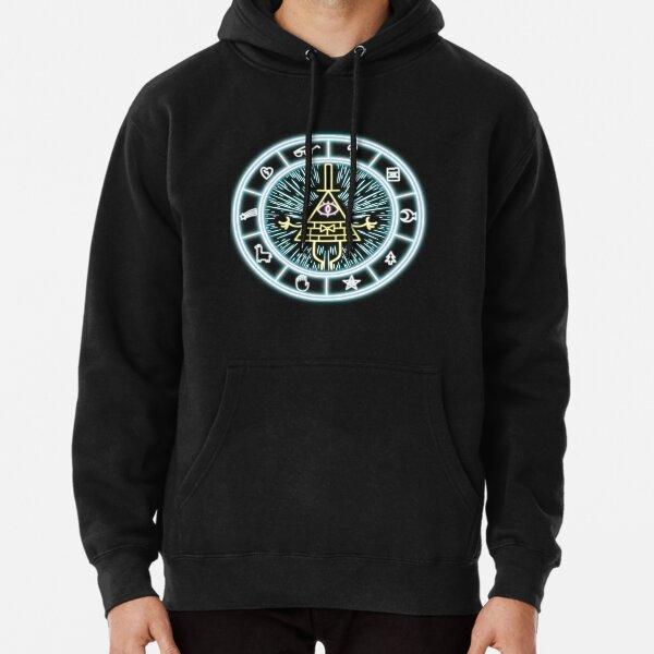 Gravity Falls Bill Cipher Wheel Pullover Hoodie