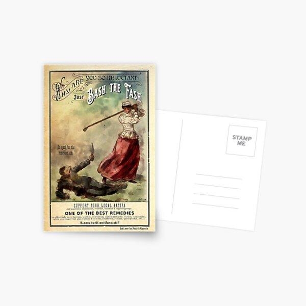 Bash the Fash ! Postcard