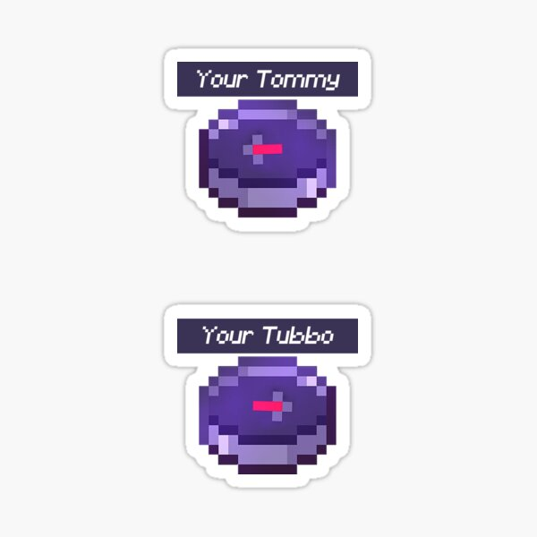your tommy your tubbo Sticker