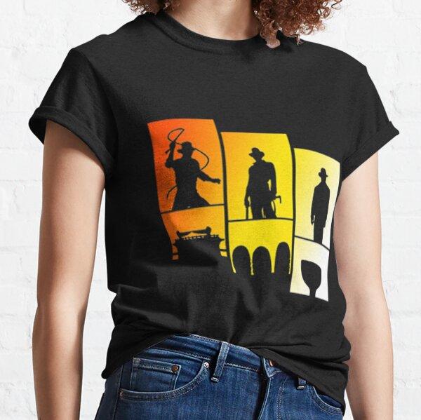 Indiana Jones Indy Trilogy T-shirt classique