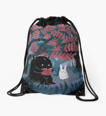 Another Quiet Spot Drawstring Bag