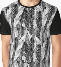 Pattern graphic bird feathers Graphic T-Shirt