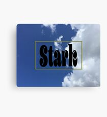 Stark Clouds Canvas Print