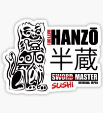 Kill Bill Hattori Hanzō Sword Master Sticker