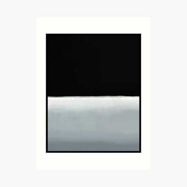 Mark Rothko arte digitalmente 9 Lámina artística