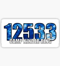Camp Kinder Ring Sticker