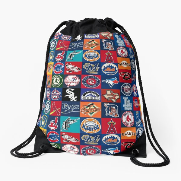 The World of MLB Drawstring Bag