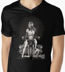 Winya No. 82 Men's V-Neck T-Shirt