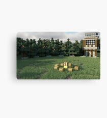 Survival Games - The Forest Canvas Print