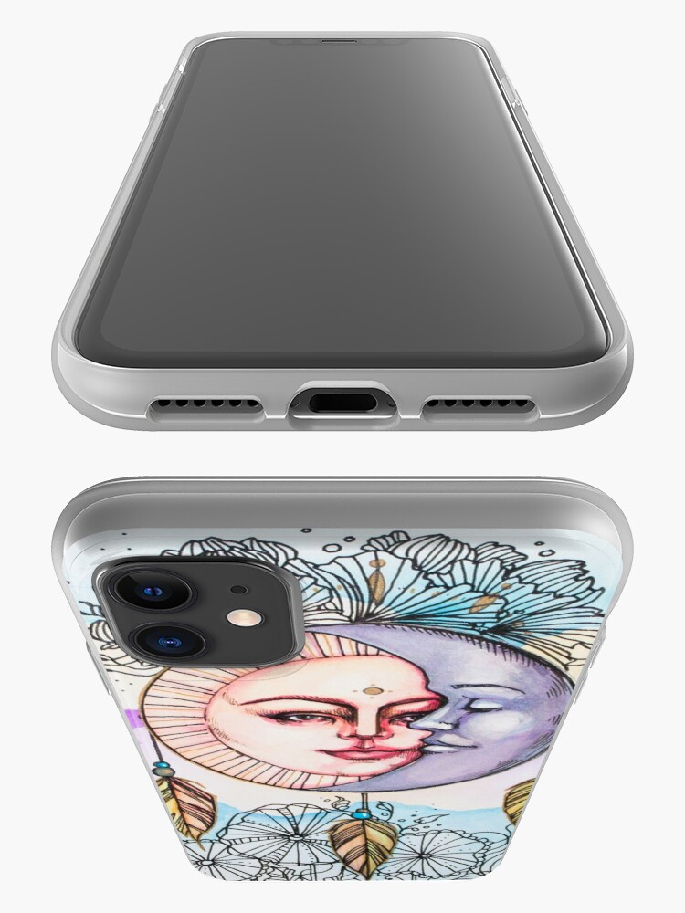 Alternate view of Bohemian Romance iPhone Case & Cover