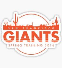 San Francisco Spring Training  Sticker