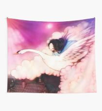 Flight of the Swan Wall Tapestry