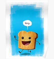 Hey, Toast! Poster