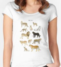 Wild Cats Women's Fitted Scoop T-Shirt