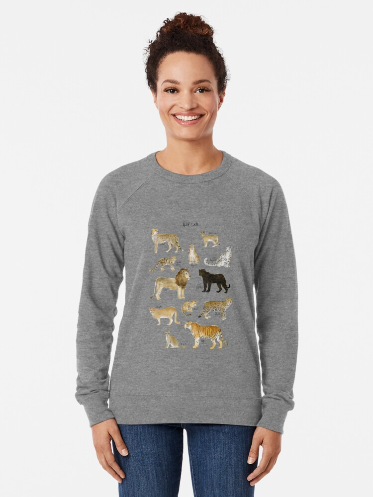 Alternate view of Wild Cats Lightweight Sweatshirt
