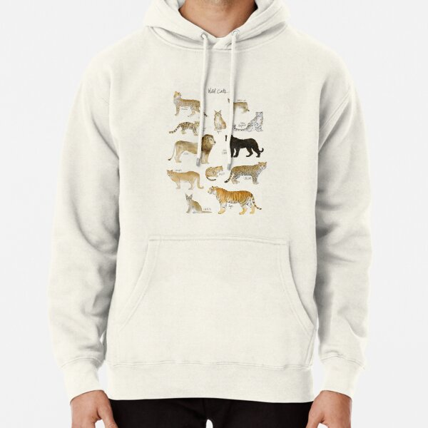 Wild Cats Pullover Hoodie