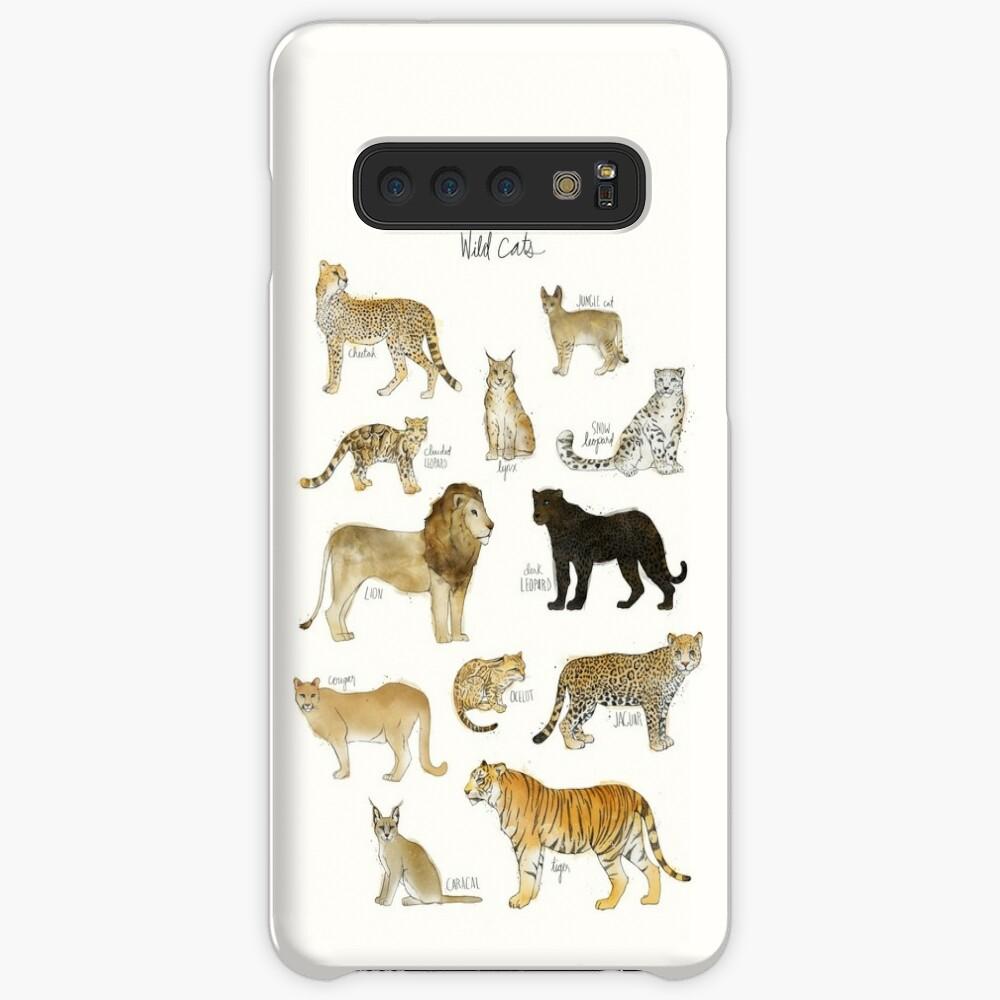 Wilde Katzen Hülle & Klebefolie für Samsung Galaxy
