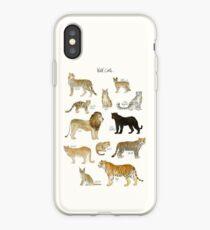 Vinilo o funda para iPhone Gatos salvajes