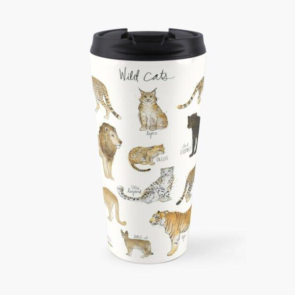 Wild Cats Travel Mug