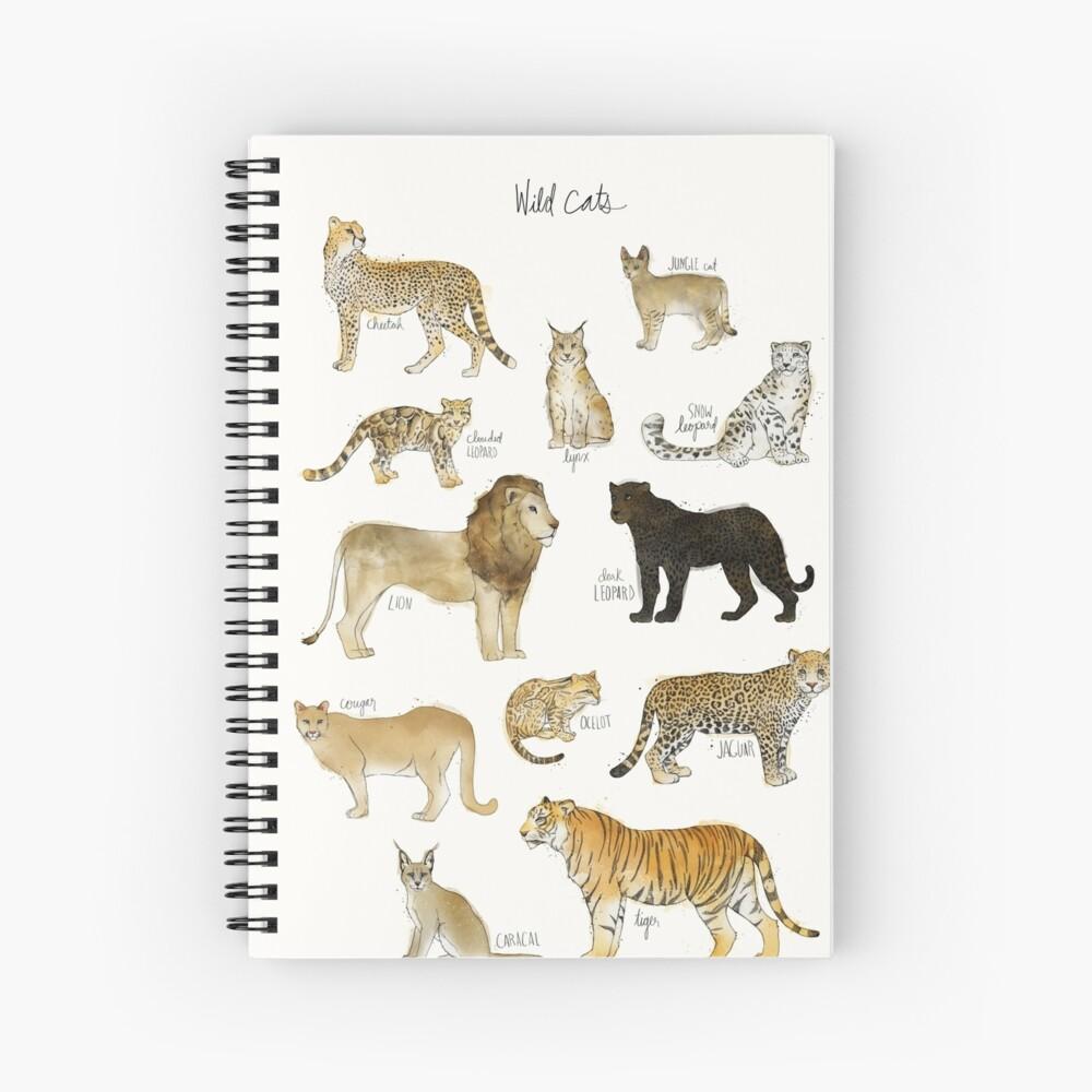 Wild Cats Spiral Notebook