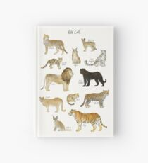 Wild Cats Hardcover Journal