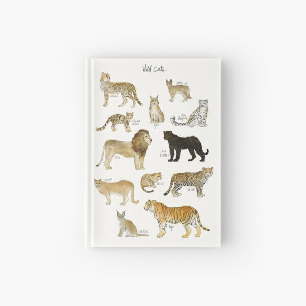 Wild Cats Hardcover Journal