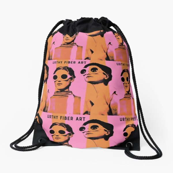 Mad For Mod Drawstring Bag